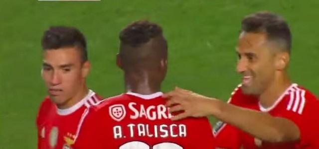 Benfica liefert Zauberfußball beim 6:0 gegen Belenenses