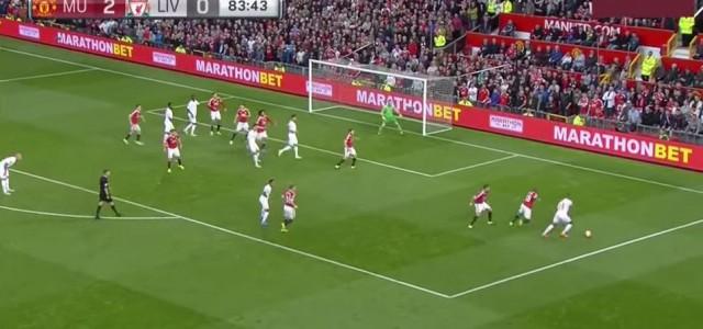 Christian Bentekes (FC Liverpool) Fallrückziehertor gegen Manchester United