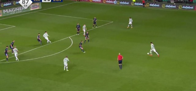 Nir Bitons (Celtic FC) geniales Weitschusstor gegen Dundee