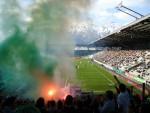 Die Fans des SK Rapid Wien am Innsbrucker Tivoli (by Brucki)