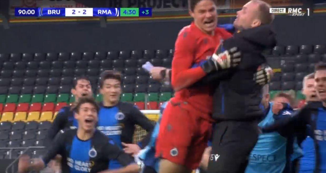 Youth League: Brügge U19-Keeper gleicht gegen Real Madrid aus