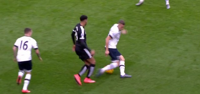 Dreifach-Gurkerl von Capoue gegen Tottenham