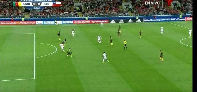 Video-Referee interveniert: Chiles doch nicht gegebenes Tor gegen Kamerun