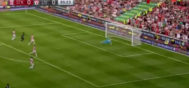 Coutinhos sensationelles Siegtor zum 1:0 Liverpools in Stoke