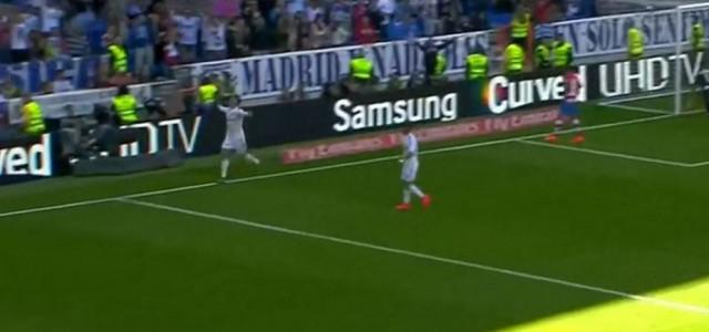 Cristiano Ronaldos fünf Treffer beim 9:1 gegen Granada
