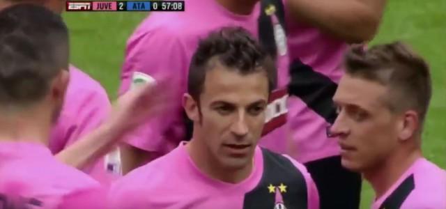 Vor fünf Jahren: Del Piero trifft in seinem letzten Spiel für Juventus