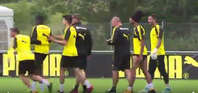 Unruhe beim BVB: Dembélé und Bürki geraten im Training aneinander