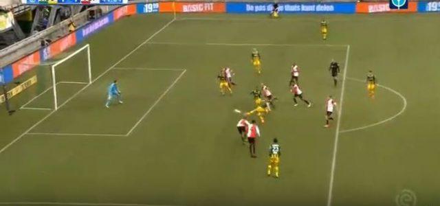 Geniales Teamgoal von ADO Den Haag gegen Feyenoord