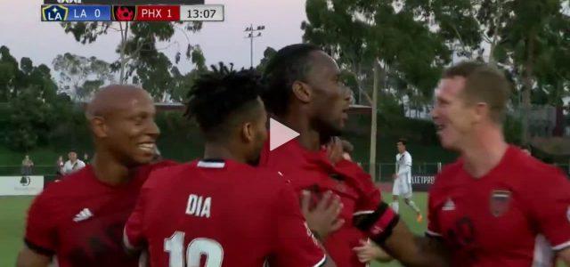 Didier Drogbas Freistoßtor gegen LA Galaxy II