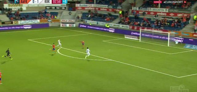 Norwegische Liga: Wenn's mit dem Empty-Net-Goal nicht klappt…
