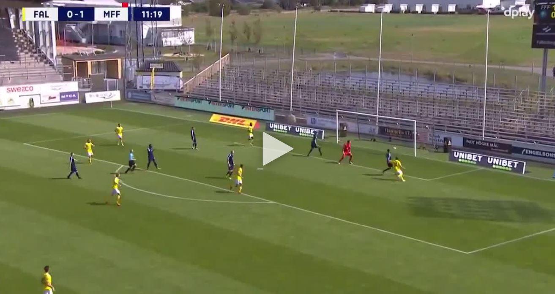 Schwedische Liga: Falkenberg mit 4 Stangenschüssen in 3 Sekunden
