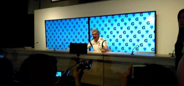 Tigres-Coach Tuca Ferretti explodiert bei der Pressekonferenz