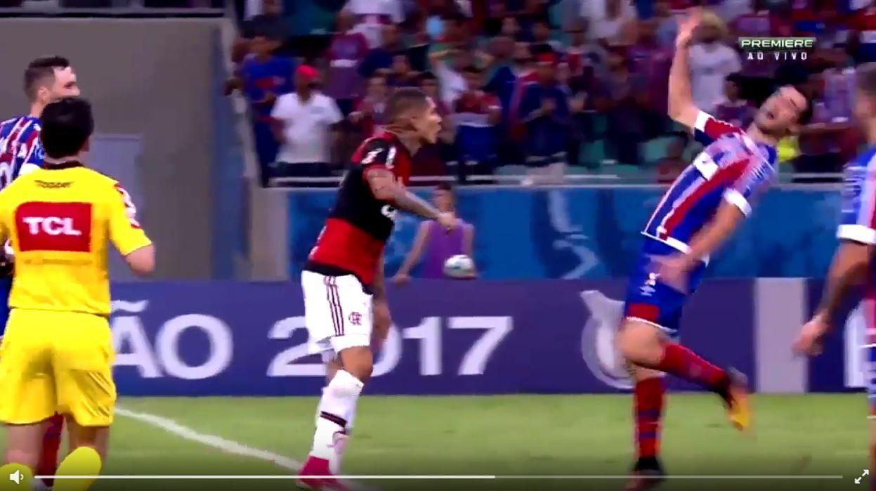 Tadellose Schauspielleistung in der brasilianischen Liga