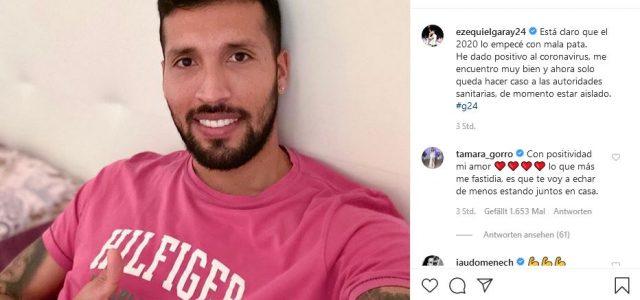 Erster COVID-19-Fall in La Liga: Garay positiv getestet