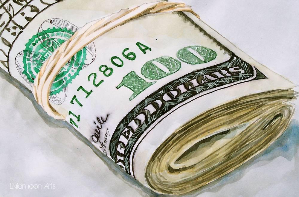 Geld, US-Dollar