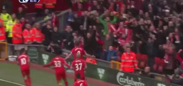 War das Steven Gerrards letztes Tor für den FC Liverpool?