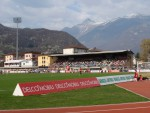 Alpenpanorama in Bellinzona, Schweiz (by Heffridge)