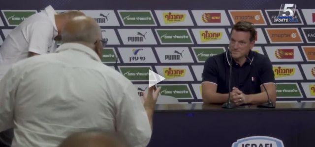 Andi Herzog und der wütende Fan bei der Pressekonferenz