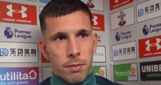 Geknickter Southampton-Kapitän entschuldigt sich bei den Fans