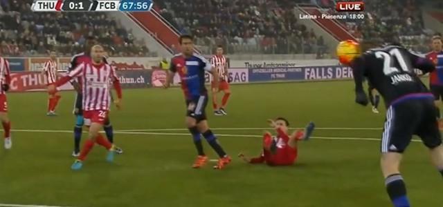 Marc Janko erzielt beide Tore beim 2:0 des FC Basel in Thun