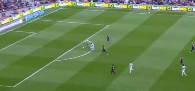 Juanmi trifft und Málaga siegt mit 1:0 im Camp Nou!