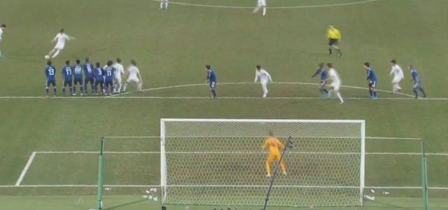 Wie einst Ronaldo für Man. United: Sensationelles Freistoßtor von Jung Wooyoung (Südkorea)