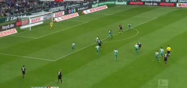 Kevin Kampls toller Treffer gegen Werder Bremen