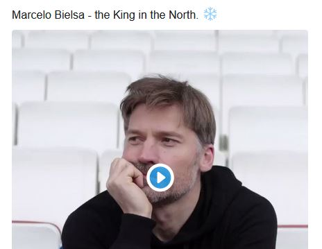 """Game of Thrones""-Star dreht cooles Image-Video für Leeds und Bielsa"