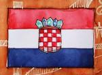Kroatien Flagge