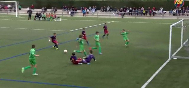 "Sensationelles Tor aus Barcelonas Jugendakademie ""La Masia"""
