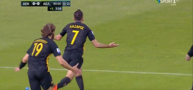 Last-Minute-Supertor bringt AEK Athen ins Cupfinale
