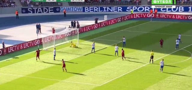 Liverpools Neue stechen: Solanke und Salah treffen gegen Hertha BSC