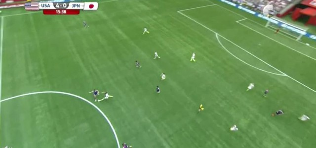 USA holen Frauen-WM: Carli Lloyds dritter Treffer zum 4:0