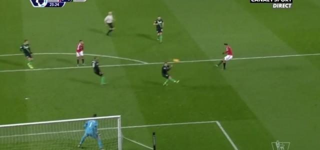 Großartiges Team Goal von Manchester United gegen Stoke City