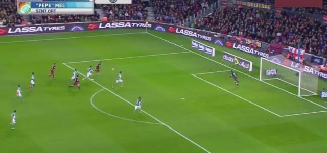Messi krönt sein 500.Spiel für Barcelona mit dem 425.Treffer