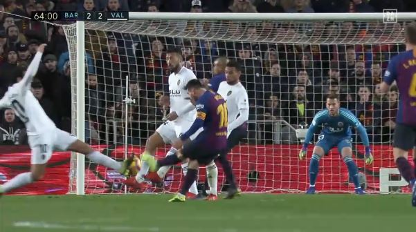 Trotz 2:2 gegen Valencia: Lionel Messi on fire!