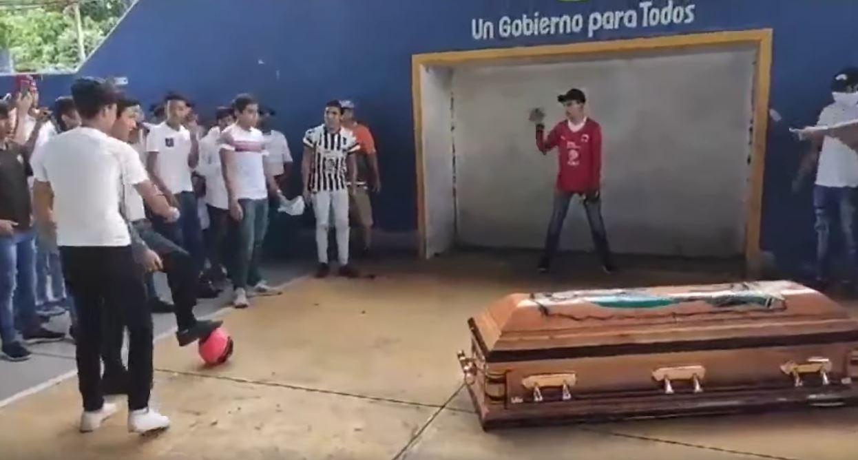 """Ermordeter Mexikaner erzielt """"sein letztes Tor"""""""