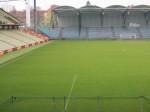 Neuer Rasen im Hanappi-Stadio