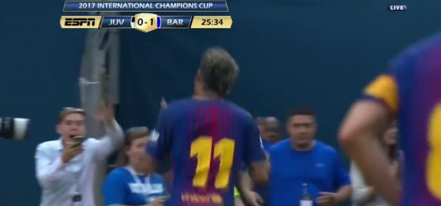 Neymars feines Solotor gegen Juventus Turin