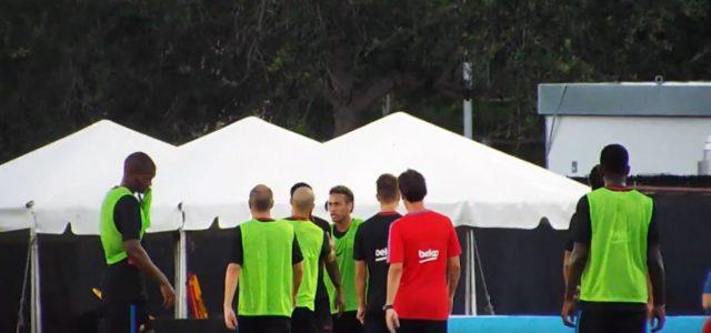 Nach Streit mit Mitspieler: Wütender Neymar bricht Barca-Training ab