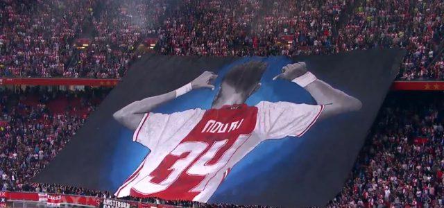 Ajax-Fans zeigen tolle Choreo für im Koma befindlichen Nouri