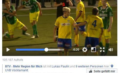 """Deutschlandsberg-Kicker fliegt nach nur 20 Sekunden mit """"glatt Rot"""" vom Platz"""