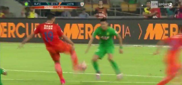 Graziano Pelles Supertor gegen Beijing Guoan
