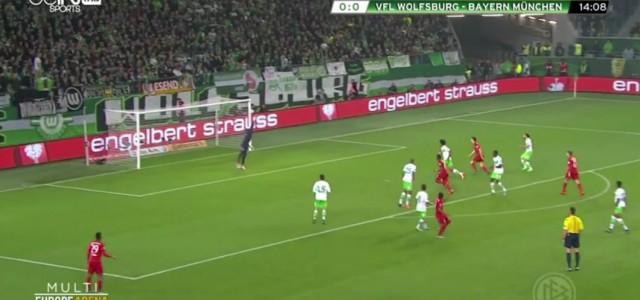 Douglas Costas Traumtor gegen Wolfsburg