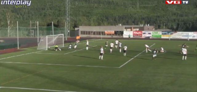 Sensationelles Rabona-Tor in der 4. norwegischen Liga