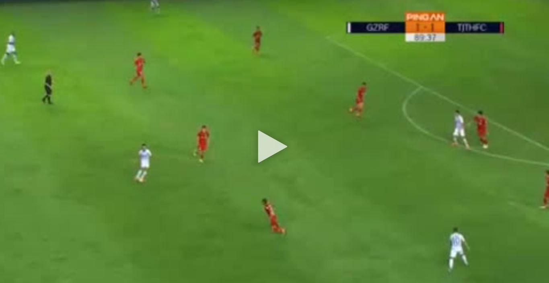 Eran Zahavi schießt Rabona-Siegtor in der 90.Minute