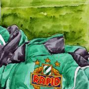 Zu Gast beim Rapid-Training: Tolle Stimmung und regeneratives Programm in Grün-Weiß