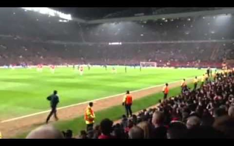 """Welcome back"" – Cristiano Ronaldo wird im Old Trafford toll begrüßt"