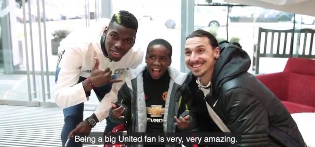 Die Geschichte von Sam, dem kleinen Manchester United Fan mit Zerebralparese