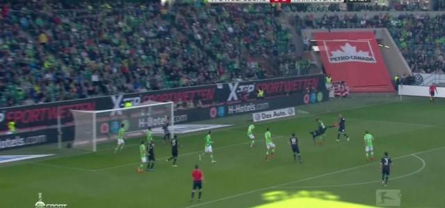 Toller Treffer von Salif Sané (Hannover 96) gegen den VfL Wolfsburg